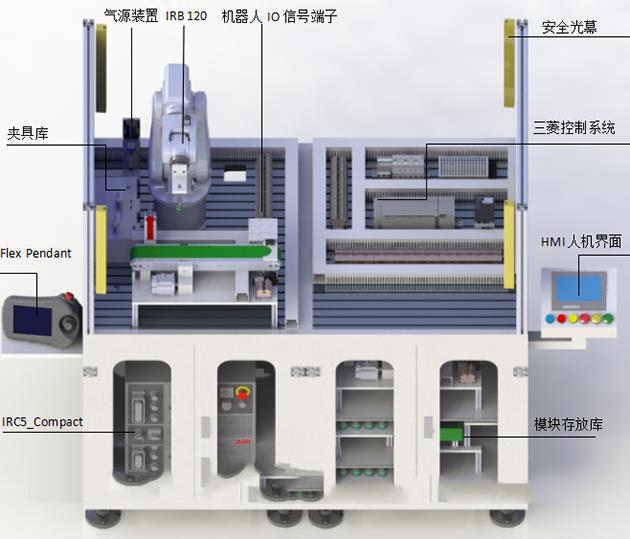 JDK21型工业机器人实训设备