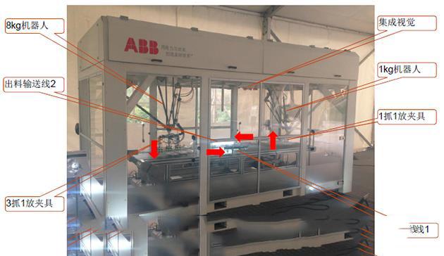 JDK26型双工业机器人检测分拣实训设备