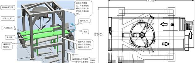 JDK27型单工业机器人检测分拣实训设备