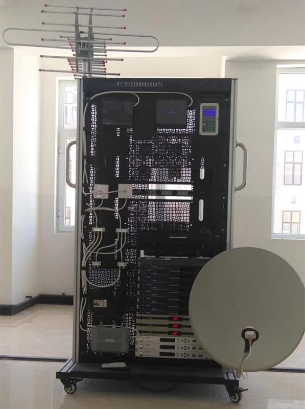 JD-CSET-LY-08楼宇工程卫星及有线电视系统实训平台