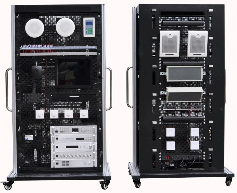 JD-CSET-LY-07楼宇工程公共及应急广播系统实训平台