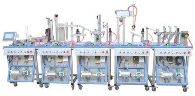 JD-RX型机电一体化柔性生产线加工实训系统(5站)